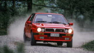 Lancia Delta HF Integrale rossa