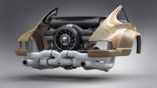 motore porsche singer