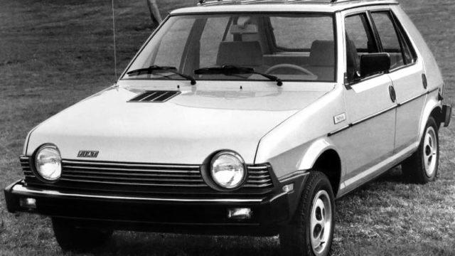 Fiat Strada, il nome americano della Ritmo.