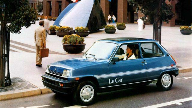 Le Car, la Renault 5 francese
