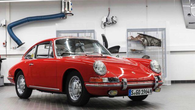 La Porsche 911 più vecchia del mondo