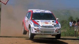 Ford Focus di Colin McRae in gara