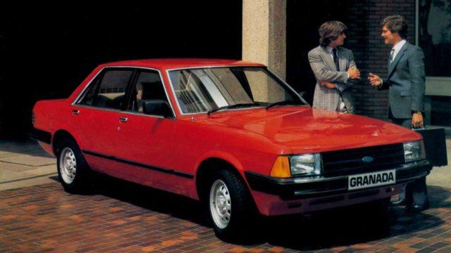 Ford Granada MK II, quando la sobrietà è distinzione