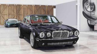 Jaguar XJ6 al Salone di Ginevra.