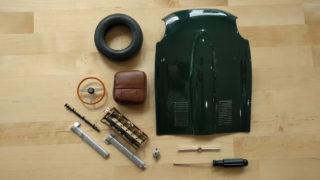 Costruisci la Jaguar E-Type, progetto di De Agostini.