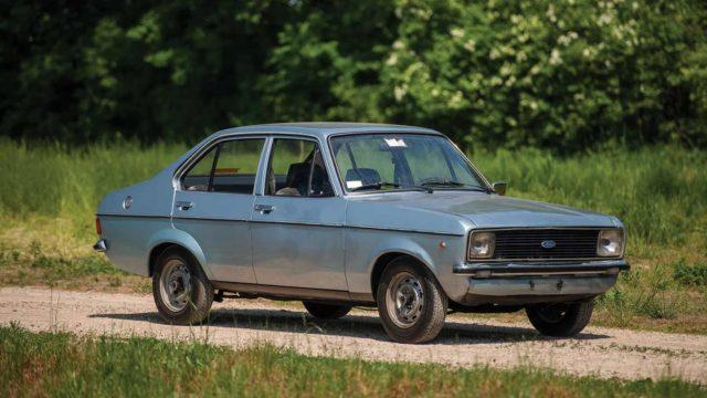 ford escort di giovanni paolo secondo
