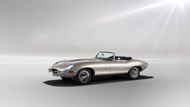 Jaguar e-Type elettrica.