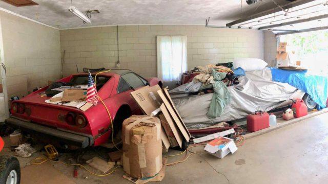 C'è chi trova una Lamborghini rarissima in garage