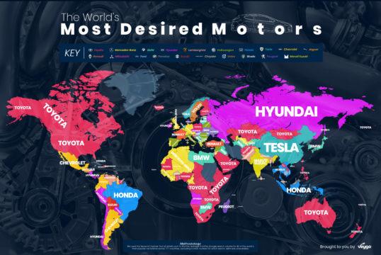 auto più cercate su google