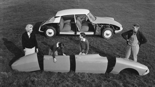Citroen DS, la prima auto modulare