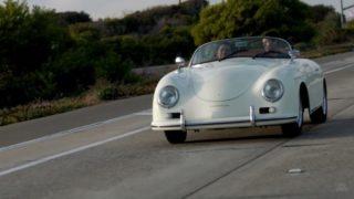 Porsche 356 elettrica.