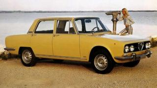 Alfa Romeo 2000, prodotta dal 1971 al 1976.