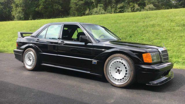 """Una Mercedes 190 """"Frankenstein"""""""