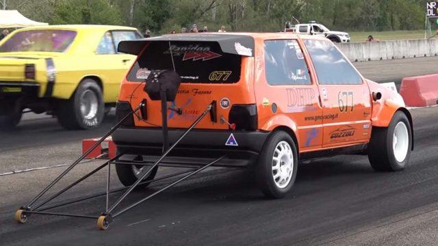 La Fiat Uno più veloce del mondo va a 258 km/h