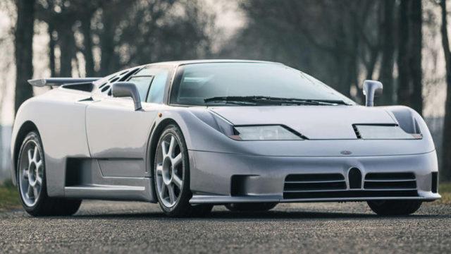 Bugatti presenterà la nuova EB110?