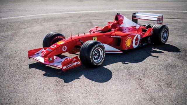 La Ferrari F2002 di Michael Schumacher