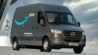 Mercedes Benz eSprinter furgone elettrico di Amazon.