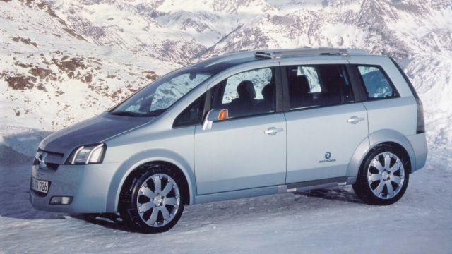 La Opel Zafira che voleva diventare alpina