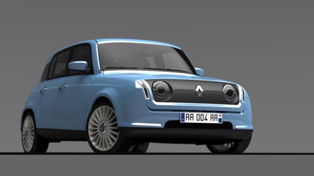 La Renault 4 si prepara a ritornare sul mercato