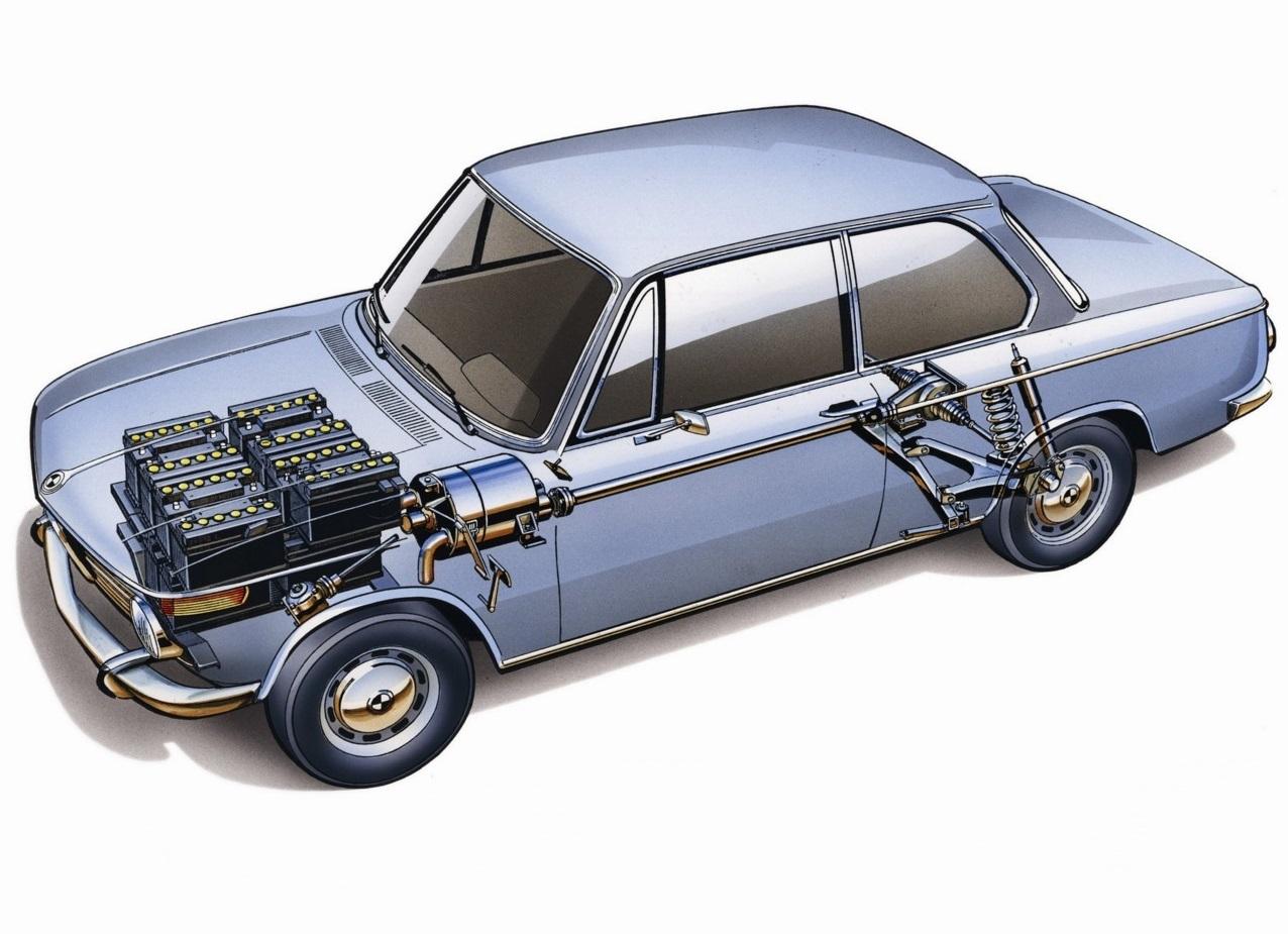 Schema Elettrico Auto : Bmw 1602e unauto elettrica vintage quartamarcia